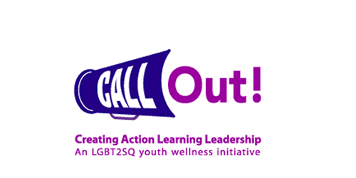 Call Out – logo design for LGBT youth initiative within Vancouver Coastal Health.