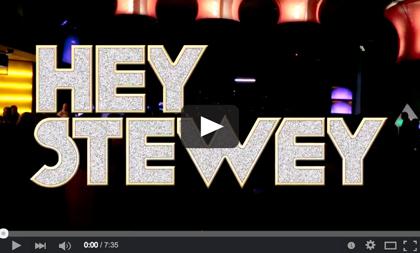 Hey Stewey live video