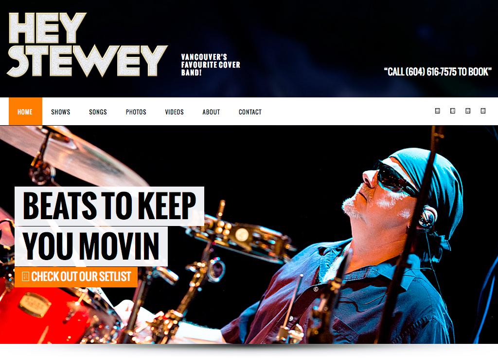 Hey Stewey Home Page